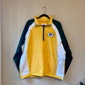 NFL PACKERS Windbreaker Jacket